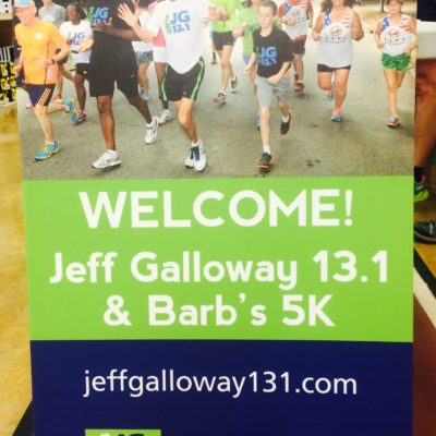 Jeff Galloway's Half Marathon Kick Off