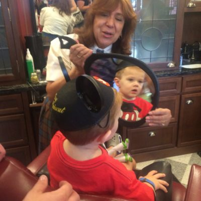 The 1st Haircut Experience at The Harmony Barber Shop