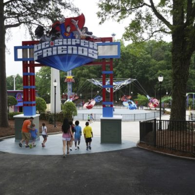 New DC Super Friends Area | Six Flags Over Georgia
