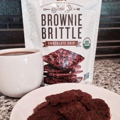 New Healthy Snack   Sheila G Organic Brownie Brittle