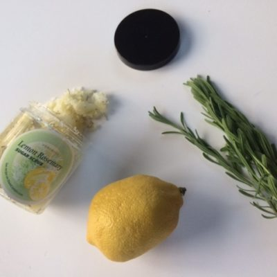 Lemon Rosemary Exfoliating Scrub Recipe