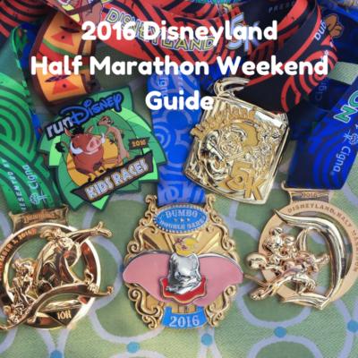 Complete 2016 Disneyland Half Marathon Guide