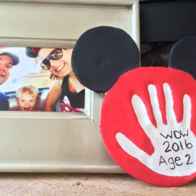Disney Vacation Keepsake Craft