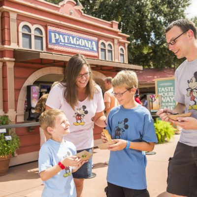Touring Epcot's Food & Wine Festival With Kids