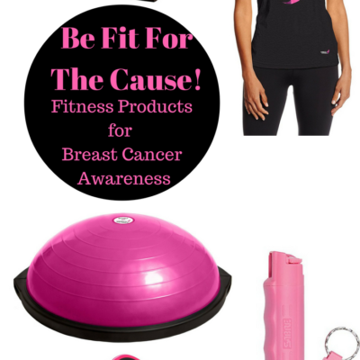 Breast Cancer Awareness Fitness Products