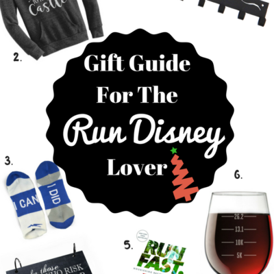 Holiday Gift Guide for the Run Disney Runner