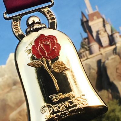Run Disney Reveals 2017 Princess Half Medals – Beauty and The Beast