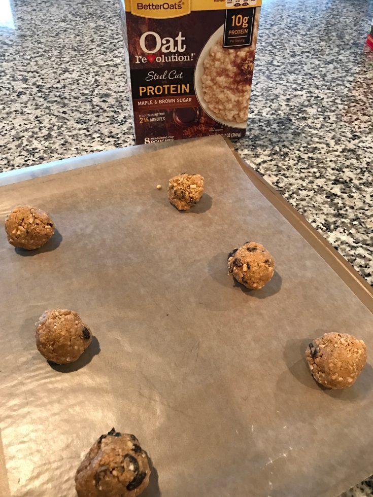 No Bake Oatmeal Energy Bites Recipe