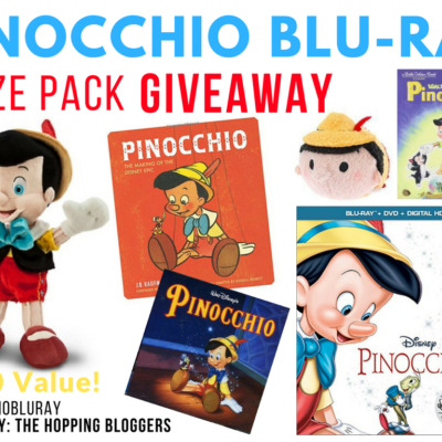Giveaway: Pinocchio Blu-Ray Prize Pack | Bring Home the Disney Classic