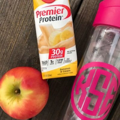 The Importance of Protein | Premier Protein Bananas and Cream