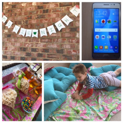 How to Create An Outdoor Movie Night With Walmart Family Mobile
