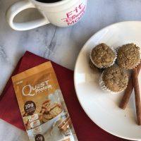 Blender Muffin Recipe, Protein Blender Muffins, Breakfast Protein Recipe