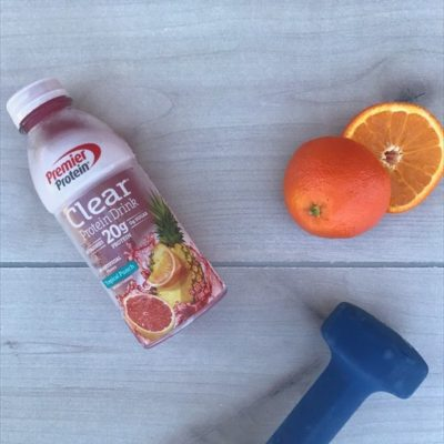 Healthy Protein Fizz Recipe With New Premier Protein Clear