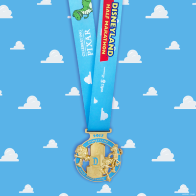 First Look: 2017 Disneyland Half Marathon Medals