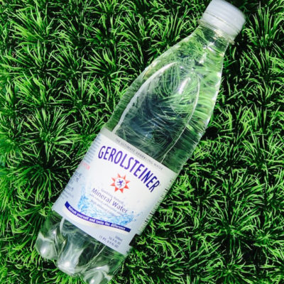 It's Time to Fall for Gerolsteiner Sparkling Water