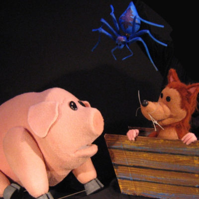 """Charlotte's Web"" Spins into Center for Puppetry Arts 