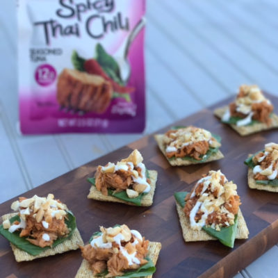 How to Increase Your Protein Intake | Recipe: Easy Thai Tuna Snack Stack