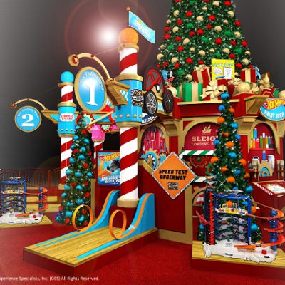 Visit Santa's Toy Factory at North Point Mall | Alpharetta
