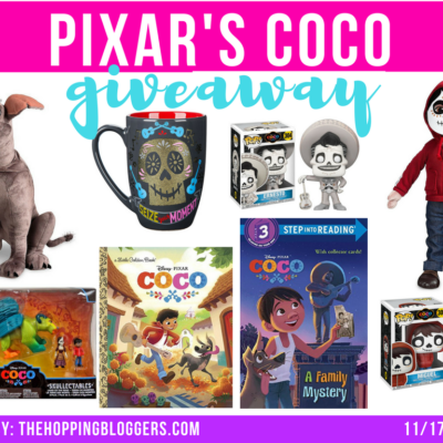 Ultimate Pixar COCO Giveaway | Enter to win