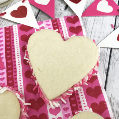 Easy Valentine's Day Sandwich Cookies
