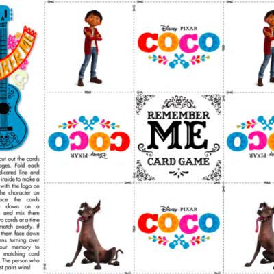 Disney Pixar's COCO Activity Sheets