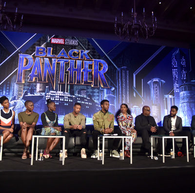 Highlights From the Black Panther Press Conference | #BlackPantherEvent