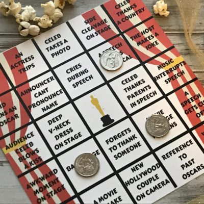Play Oscar Bingo When You Watch The Academy Awards | Free Printable