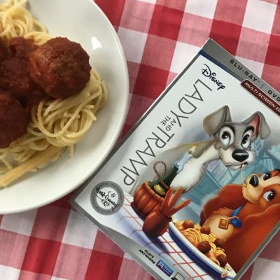 Out of the Disney Vault: Lady and the Tramp on BluRay DVD