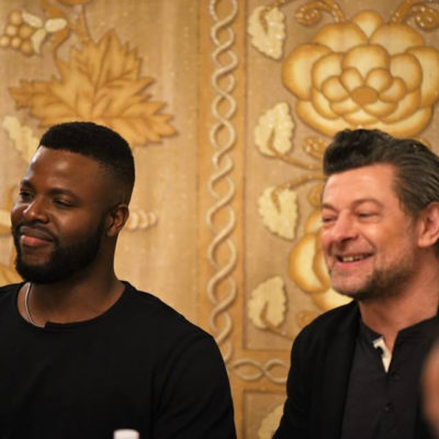 The Black Panther Antagonists: Andy Serkis and Winston Duke Interview #BlackPantherEvent