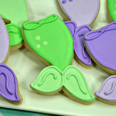 Mermaid Cookies Recipe: Perfect for a Kid's Mermaid Party