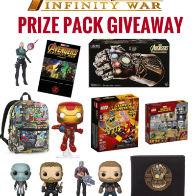 Avengers: Infinity War Giveaway – Over $300 Value