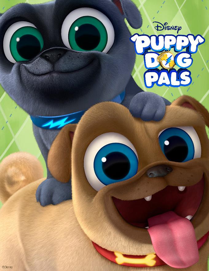 Puppy Dog Pals Crafts, Puppy Dog Pals, Puppy Dog Pals Disney Junior