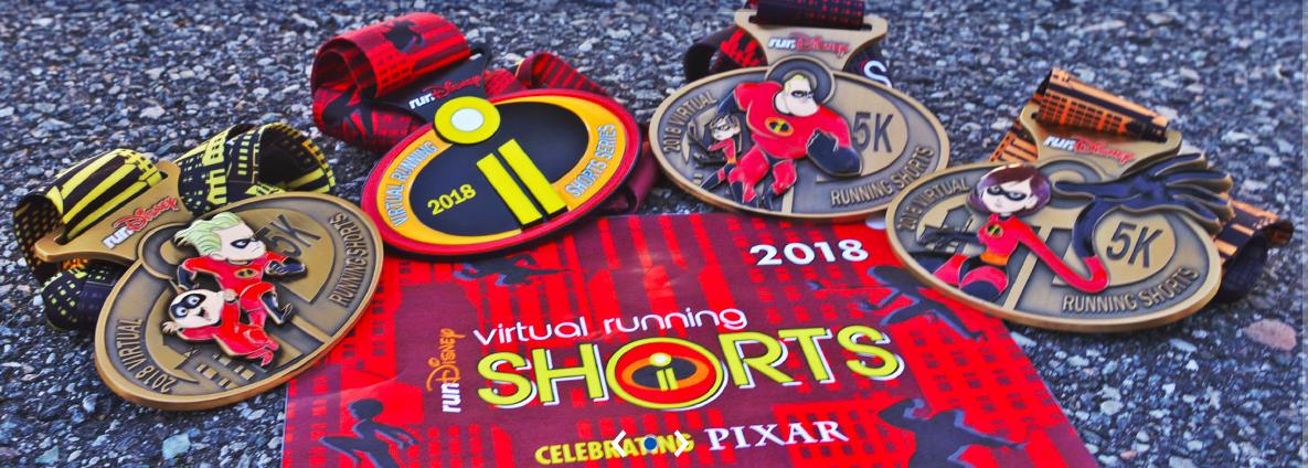 Run Disney Virtual Running Shorts, Run Disney Virtual Race, Run Disney Runs, Run Disney Race