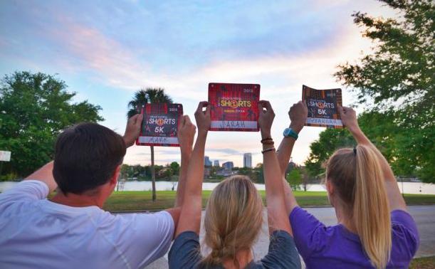 Run Disney Virtual Running Shorts