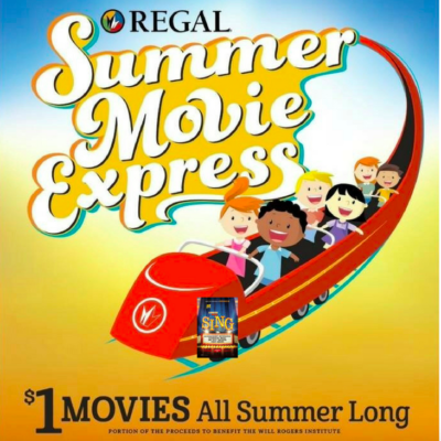 Regal Cinemas Summer Movie Schedule | $1 Kids Movies