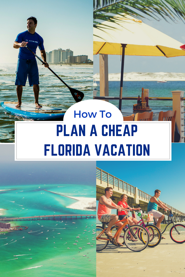 How to plan a cheap Florida vacation, without sacrificing any family fun. See where to save money when you visit Florida. #FamilyTravel #Florida
