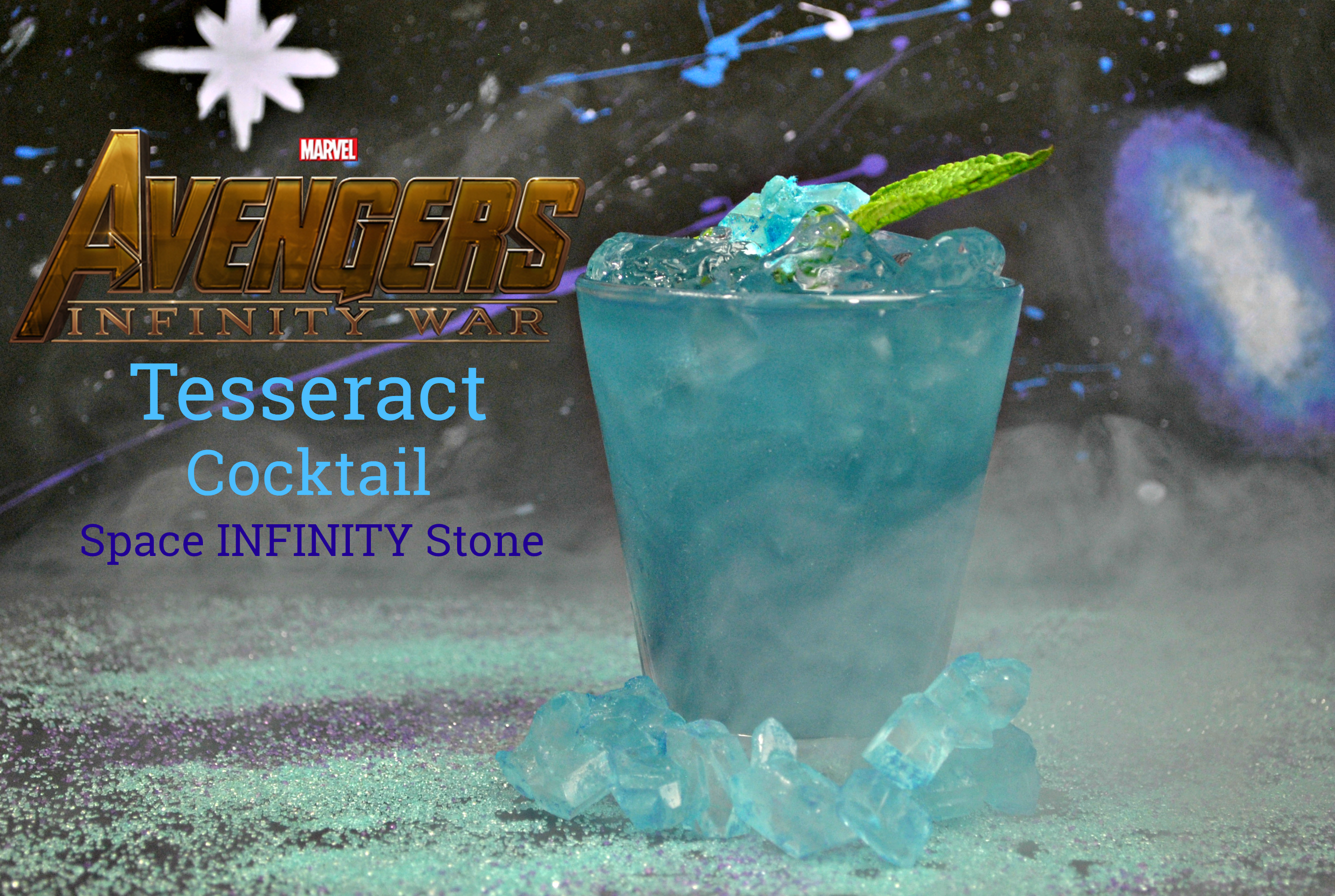 Super Hero Drink Recipe, Avengers Mocktail, Avengers Drink, Avengers Infinity War