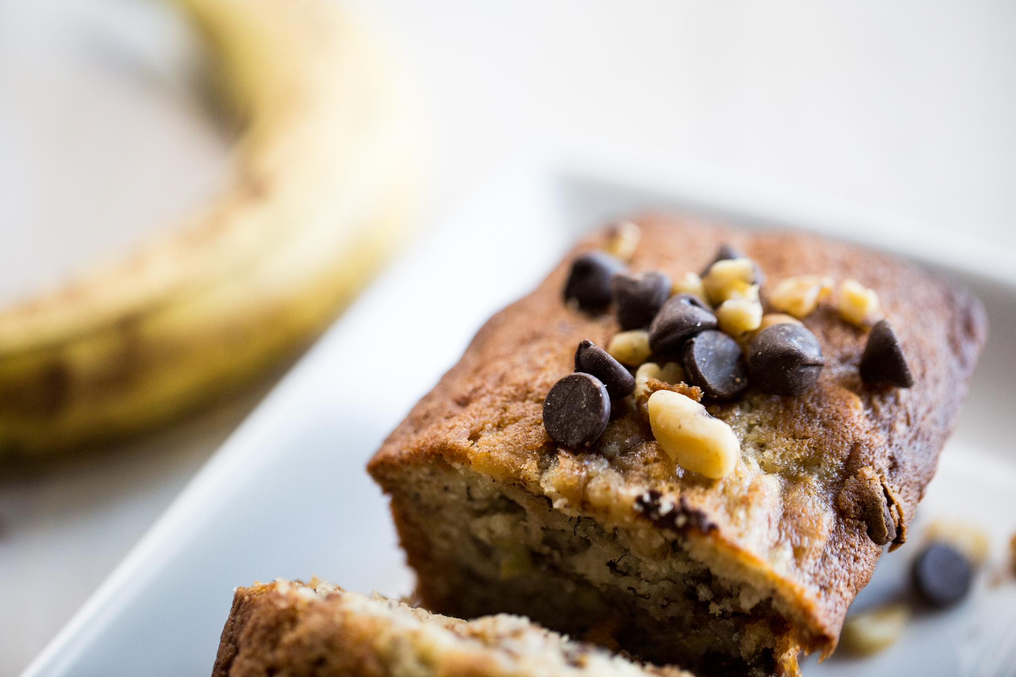 Banana Nut Chocolate Chip Bread Recipe, Banana Nut Bread, Banana Recipe, Quick Bread Recipe, Dessert Bread