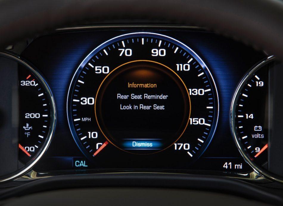 Teen Safe Driving Tips, Backseat Reminder Technology