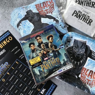 Marvel's Black Panther BluRay DVD Release + Tips for a Black Panther Movie Night