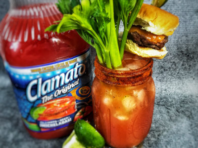 Mexican Bloody Mary, Cheeseburger Michelada Recipe, Michelada Recipe, Clamato Cocktail Recipe