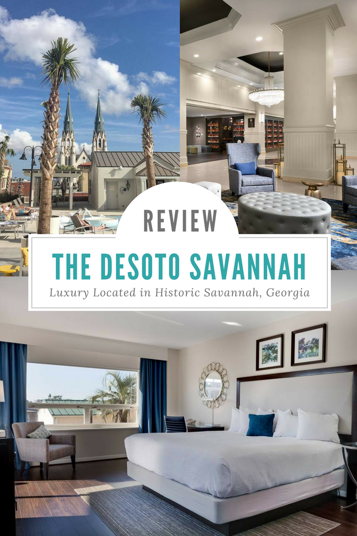 This Desoto Savannah Hotel review is your guide to one of the city's most popular hotel that's located within walking distance of the popular tourist spots. #SavannahGeorgia #Savannah #Travel