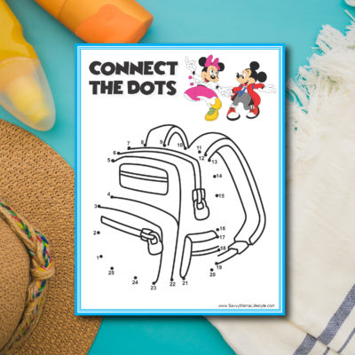 3 Disney Road Trip Games: FREE Printable Activities For The Car Ride