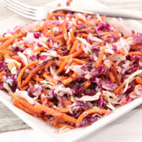 Mayo-Free Coleslaw Recipe, Summer Coleslaw recipe, slaw recipe, coleslaw