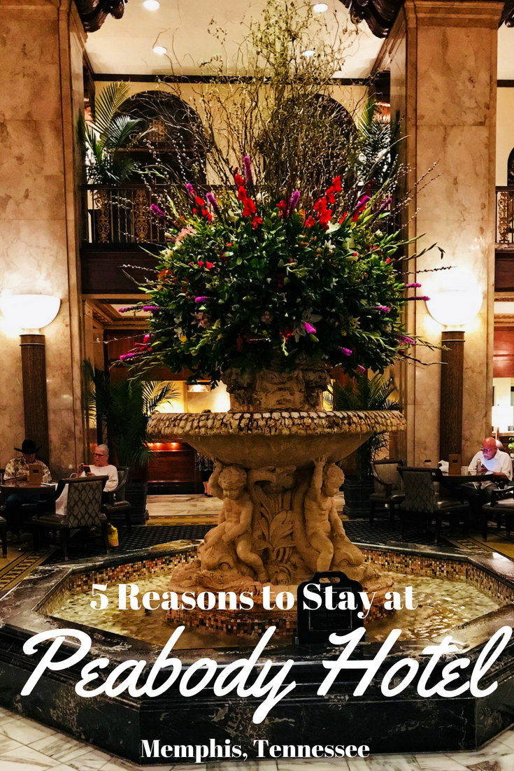 Located in the heart of Memphis, you can find deep history and luxury at the world-famous Memphis Peabody Hotel. See why guests love it and keep coming back. #Travel #HotelReview #Memphis #MemphisTravel