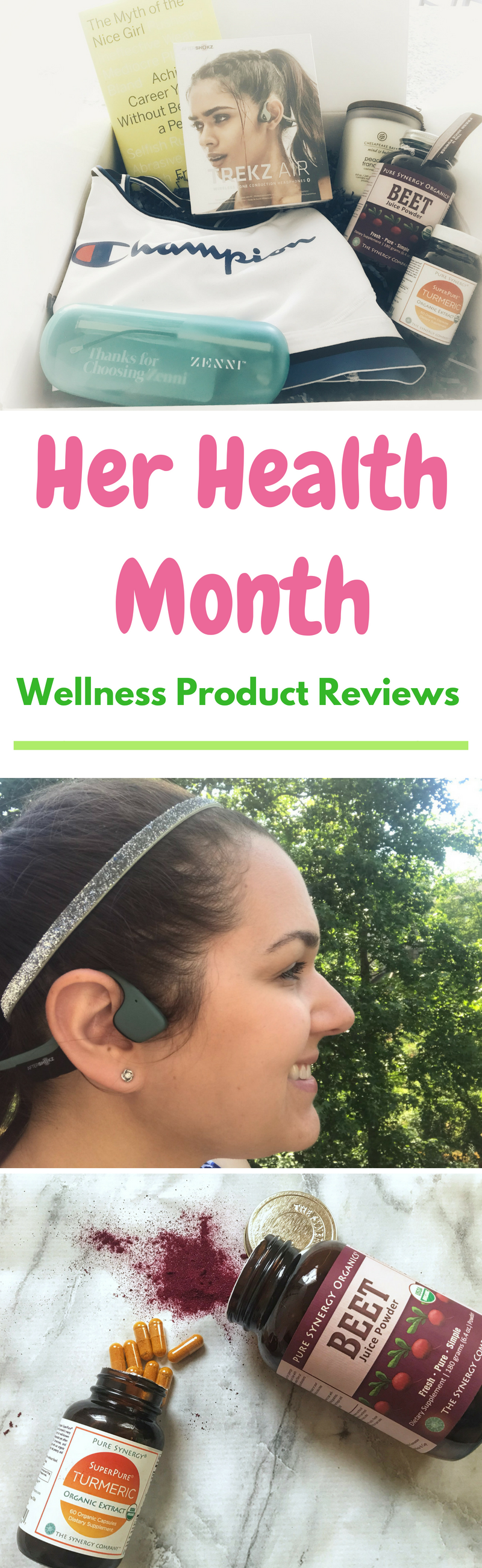 Her health, Her Health Month, Product Reviews