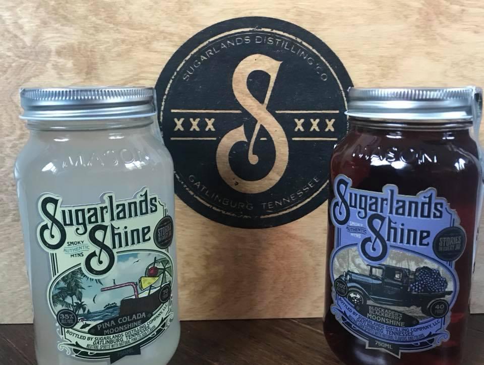 Sugarlands Moonshine, Blackberry Sage Hard Lemonade, Moonshine, Gatlinburg