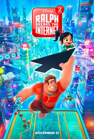 WRECK-IT RALPH 2, Ralph Breaks the Internet