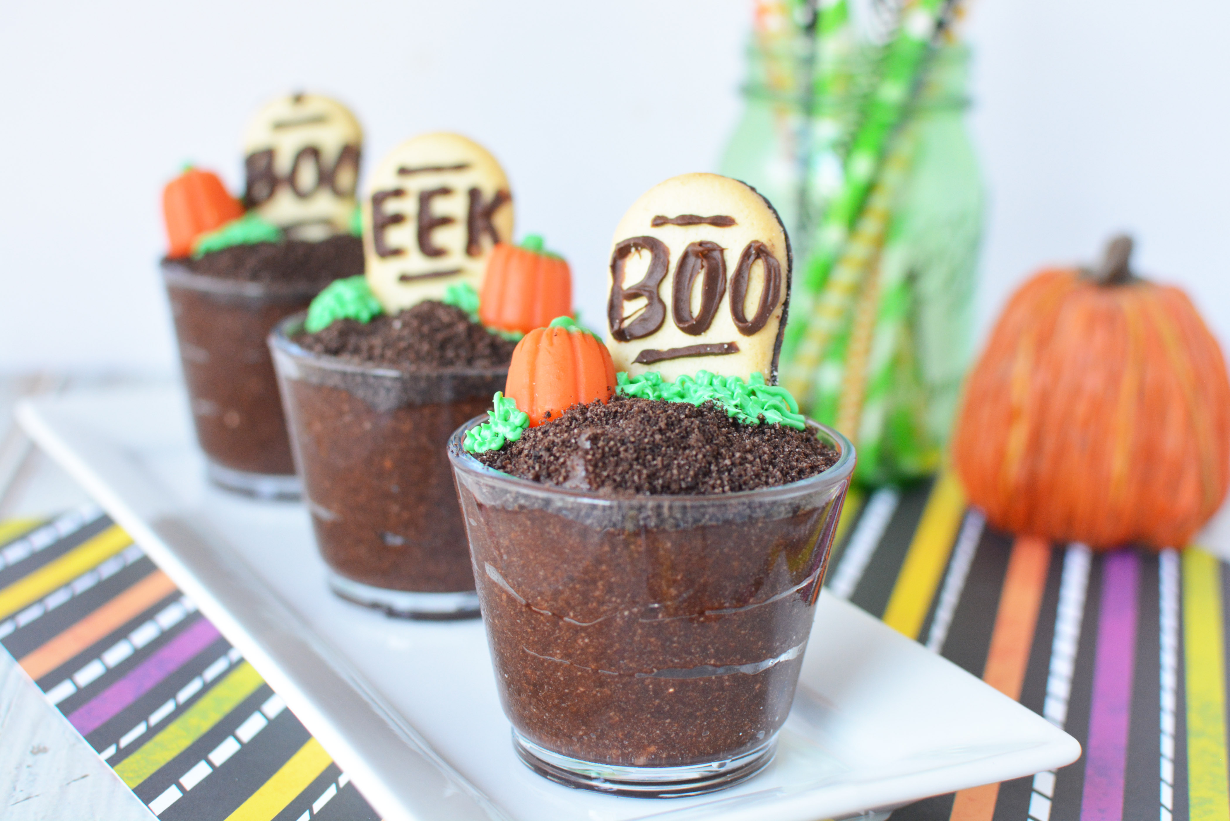 Halloween Kids Dessert, Halloween Pudding Cups, Pudding Recipe, Halloween Recipe