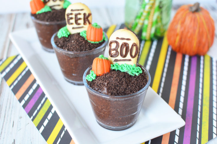 Spooky Halloween Pudding Cups - A Fun Halloween Dessert Option For Kids
